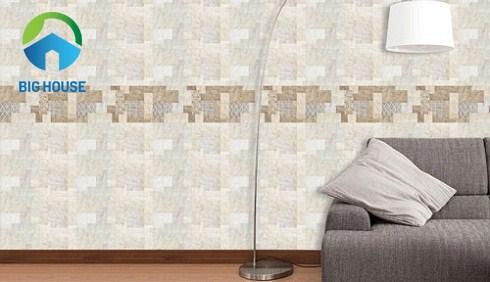 gạch ốp tường phòng khách ý mỹ 30x60