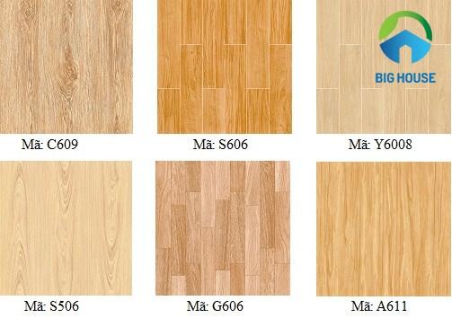 gạch lát nền giả gỗ ý mỹ