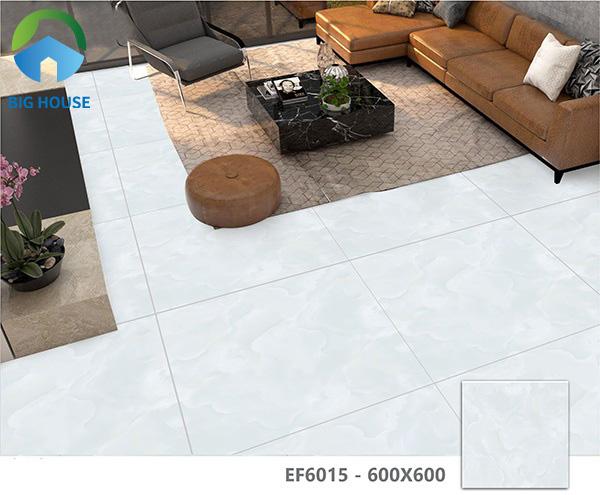 Gạch Ý Mỹ EF6015 lát nền phòng khách kích thước 60x60