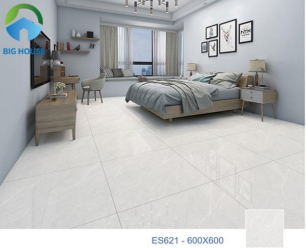 Mẫu gạch Ý Mỹ ES621 là một gợi ý hay để lát nền phòng ngủ nhà bạn