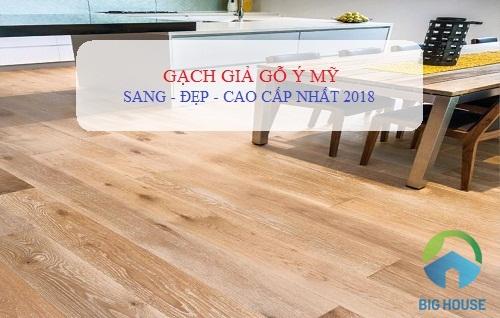Ưu điểm vượt trội của gạch giả gỗ Ý Mỹ với gạch giả gỗ thông thường