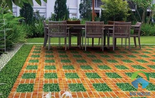 gạch sân vườn ý mỹ giá rẻ