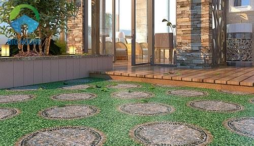 mẫu gạch lát sân vườn Ý Mỹ