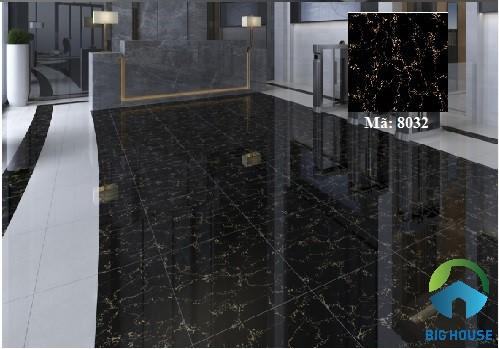 mẫu gạch lát nền màu đen 4