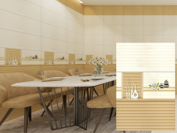 bộ gạch ốp tường phòng ăn