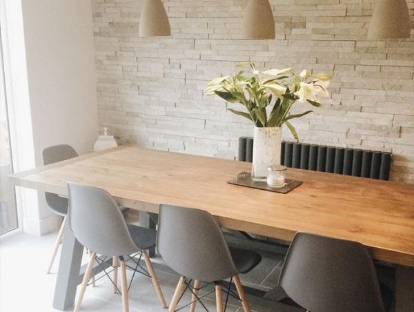 mẫu gạch thẻ ốp tường phòng ăn