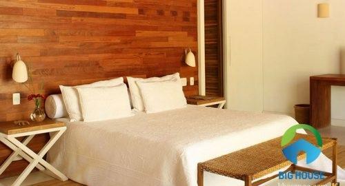Mẫu gạch giả gỗ ốp tường