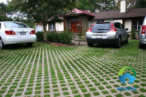 Gạch lát nền nhà xe  ý mỹ