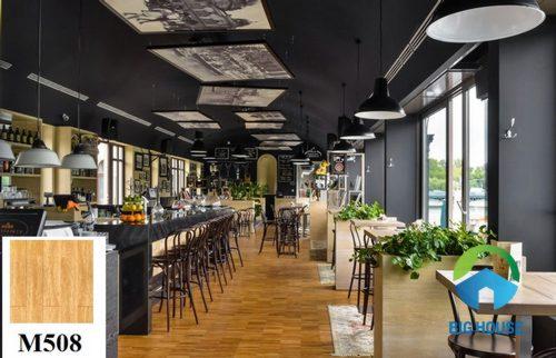 Gạch lát quán cà phê