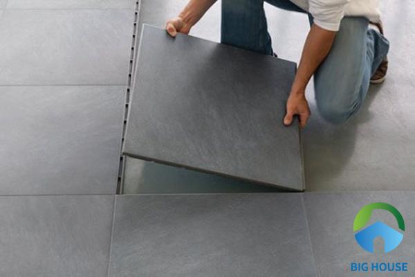 Gạch lát nền cần dễ dàng tìm kiếm và thay thế