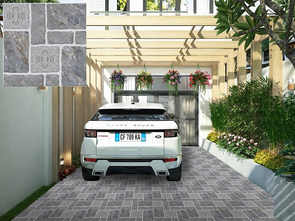 Cách chọn gạch lát nền nhà xe hiệu quả & Top Mẫu Đẹp 2021