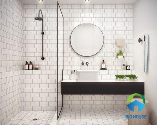 gạch ốp tường nhà vệ sinh ý mỹ