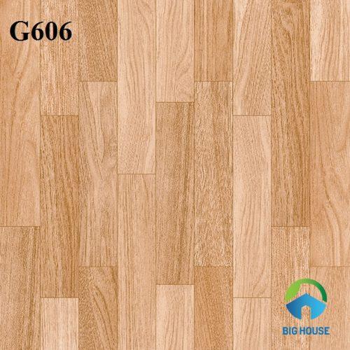 Mẫu gạch giả gỗ lát nền mã G606