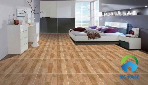 Gạch lát nền vân gỗ catalan 80x80
