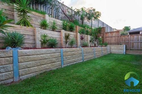 gạch trang trí tường rào