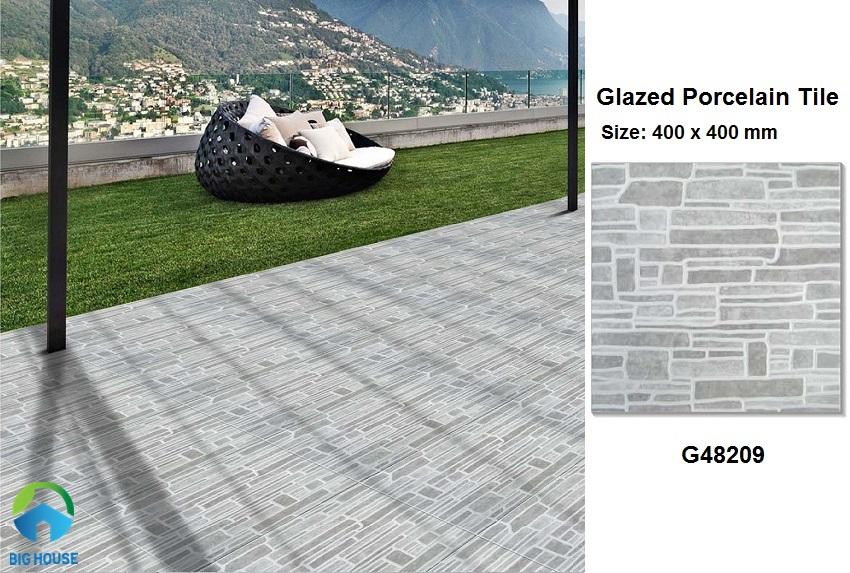 mẫu gạch lát sân nhà Taicera G48209