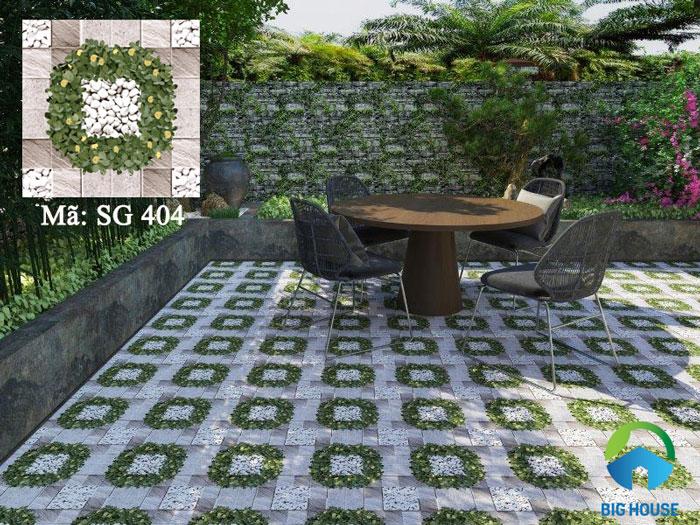 mẫu gạch lát sân nhà Viglacera SG404