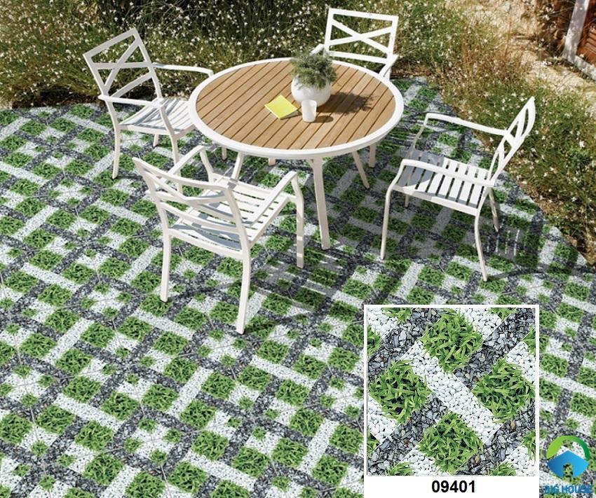mẫu gạch lát sân nhà đẹp prime 09401