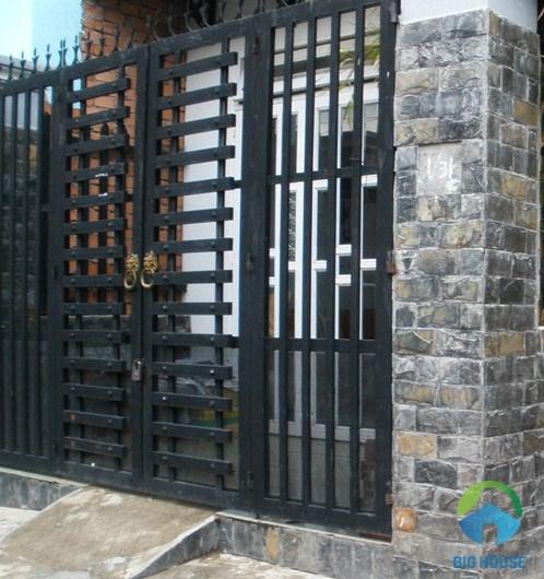 gạch giả đá ốp trụ cổng