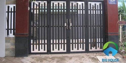 gạch giả đá ốp cổng 8