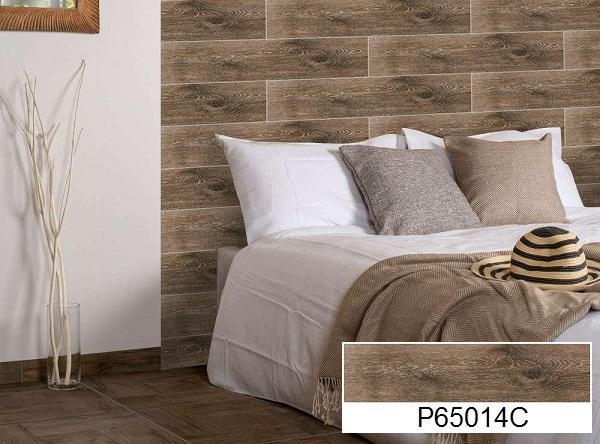 gạch ốp tường giả gỗ ý mỹ đẹp