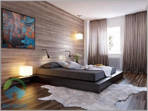 gạch ốp tường giả gỗ 1