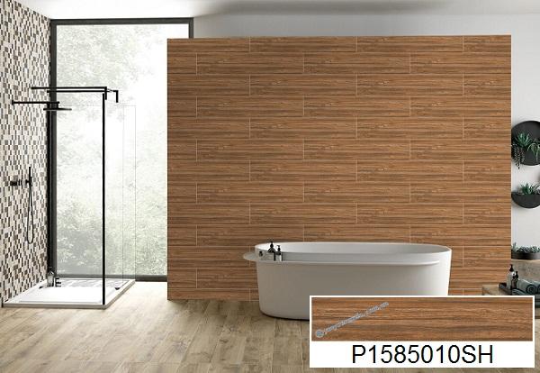 mẫu gạch ốp tường giả gỗcủa ý mỹ