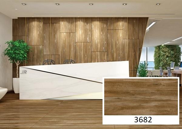 mẫu gạch ốp tường giả gỗ vitto