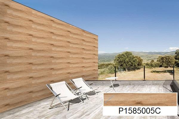 mẫu gạch ốp tường giả gỗ ý mỹ đẹp