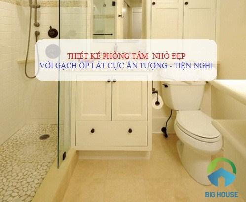 Những lưu ý cần biết khi thiết kế nhà vệ sinh nhỏ đẹp và ấn tượng