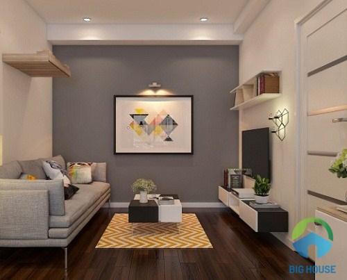 thiết kế phòng khách nhỏ 10 m2 3