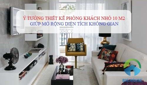 Thiết kế phòng khách nhỏ 10m2 với gạch ốp lát CỰC ĐẸP – Đừng bỏ lỡ