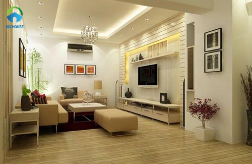 thiết kế phòng khách nhỏ 10m2 14