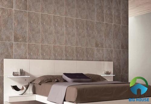 có nên ốp tường phòng ngủ bằng gạch 4