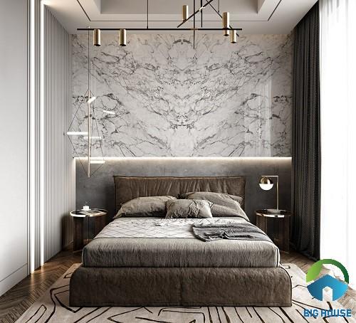 có nên ốp tường phòng ngủ bằng gạch 5