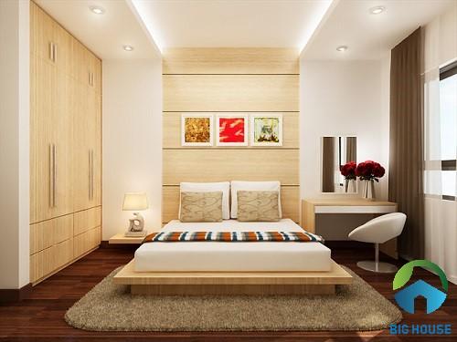 có nên ốp tường phòng ngủ bằng gạch 8