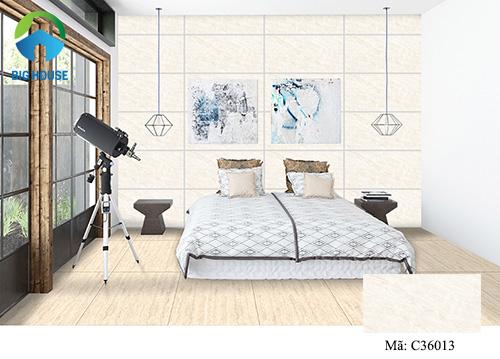 đá ốp tường phòng ngủ 7