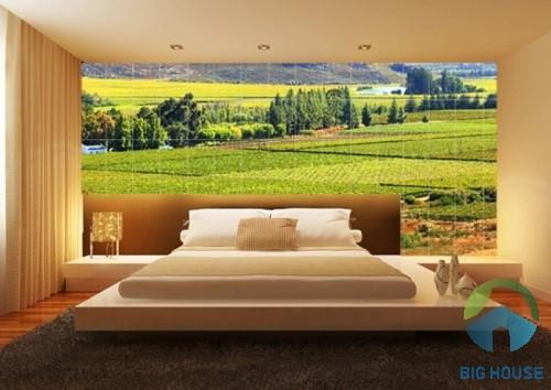 gạch 3d ốp phòng ngủ 2