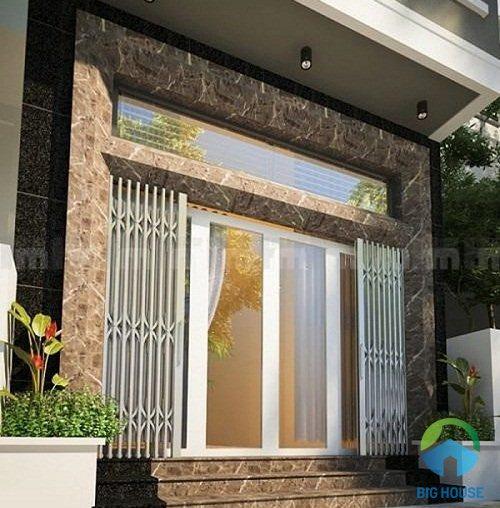 Ứng dụng gạch giả đá granite cho mặt tiền nhà