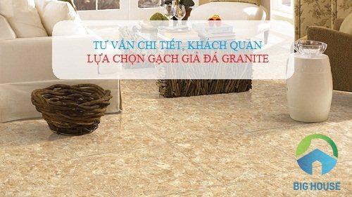 Kinh nghiệm chọn gạch giả đá Granite cho không gian Nội – Ngoại thất