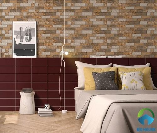 Gạch ốp chân tường phòng ngủ: TOP mẫu gạch đẹp cùng cách chọn phù hợp