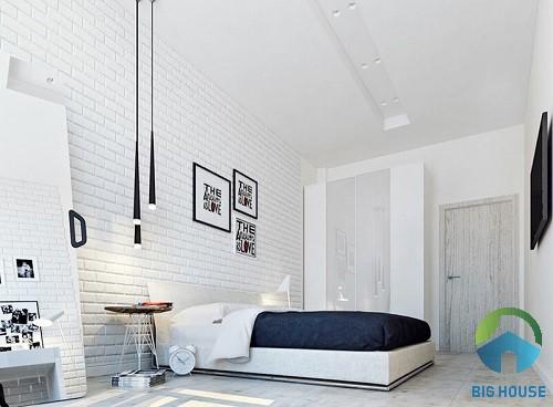 gạch ốp tường phòng ngủ đẹp 1
