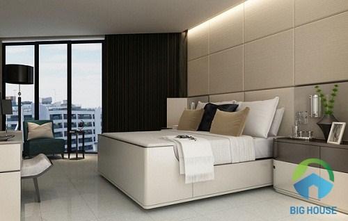 Chọn gạch trang trí phòng ngủ cho gia chủ có cá tính nhẹ nhàng