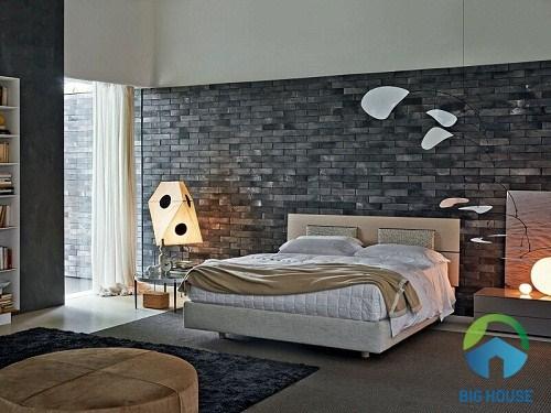 Chọn gạch trang trí phòng ngủ của người có cá tính mạnh mẽ