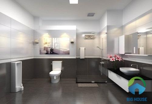 gạch ốp nhà vệ sinh ý mỹ
