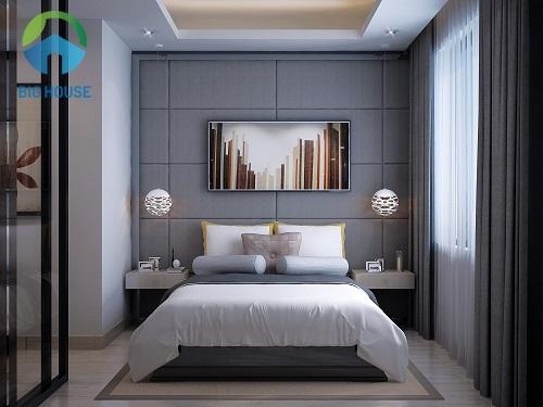 gạch ốp tường phòng ngủ đẹp