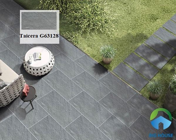 mẫu gạch lát nền chịu lực Taicera G63128 dùng cho khu vực sân vườn