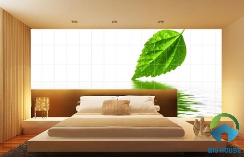 gạch ốp phòng ngủ 2