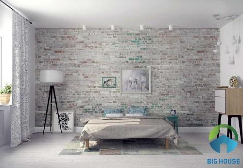 gạch ốp tường phòng ngủ giá rẻ