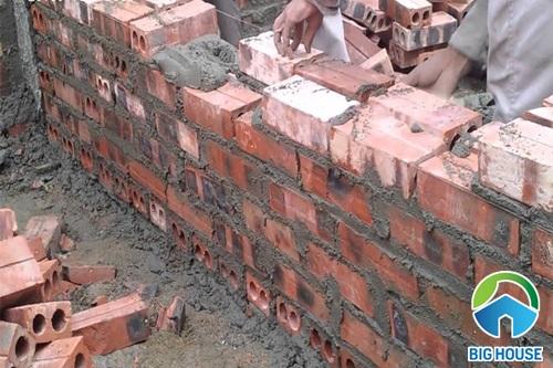 1m2 tường bao nhiêu viên gạch